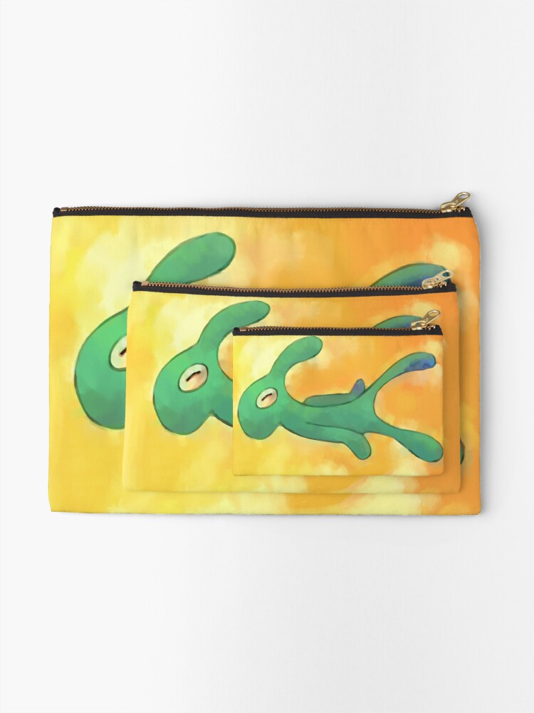 Alternate view of High Res Bold and Brash Repaint Zipper Pouch