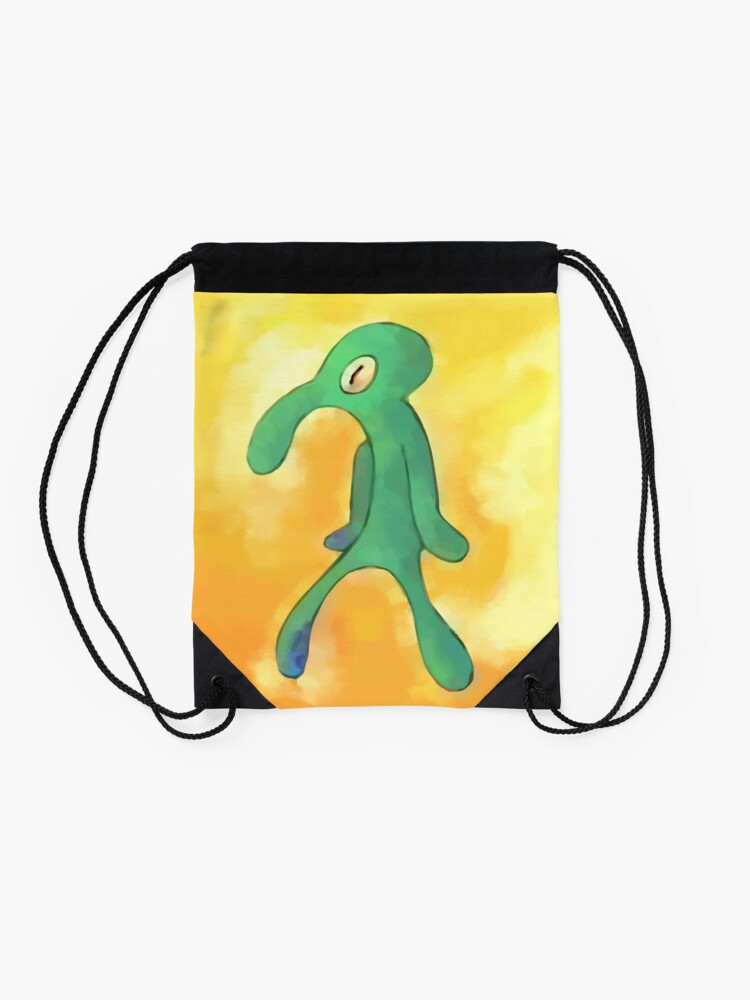 Alternate view of High Res Bold and Brash Repaint Drawstring Bag