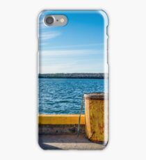 Fishermans Cove, Nova Scotia iPhone Case/Skin