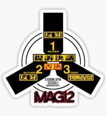 MAGI 2 Super-Computer System (NERV) - Evangelion  Sticker