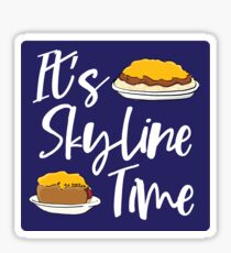 It's Skyline Time Sticker