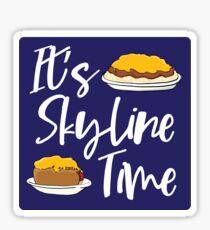 It's Skyline Time Sticker