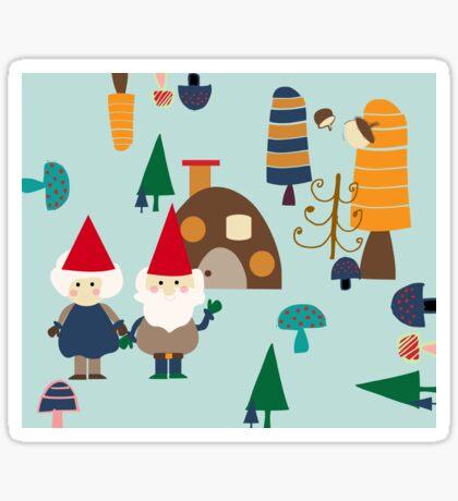 Gnome blue Sticker