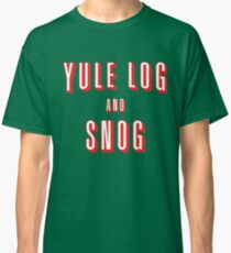Yule Log and Snog -Red Classic T-Shirt