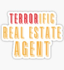 Terroroific Real Estate Agent (terrific) Sticker