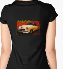 Atomic-Age Chevy Deluxe Women's Fitted Scoop T-Shirt
