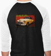 Atomic-Age Chevy Deluxe Men's Baseball ¾ T-Shirt
