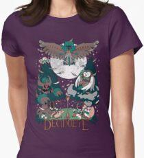 Starter's family: Decidueye Womens Fitted T-Shirt