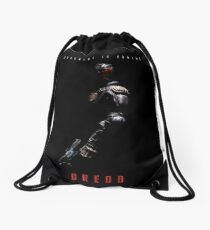 Judge Dredd Drawstring Bag