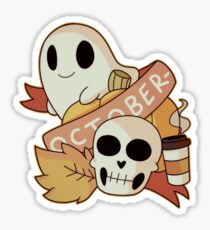 October Sticker