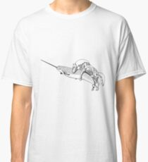 Creating a Unicorn - Horse and Narwal Classic T-Shirt