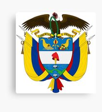 Columbia Coat of Arms  Canvas Print