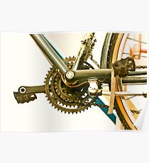 Bicycle Gears Poster