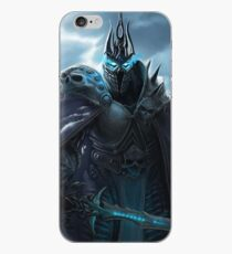 The Lich King in Northrend iPhone Case