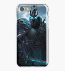 The Lich King in Northrend iPhone Case/Skin