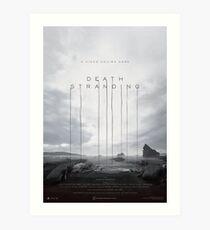 Death Stranding Large Poster Art Print