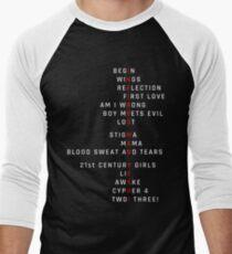 Wings Theory: Infires - BTS - White Men's Baseball ¾ T-Shirt