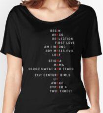 Wings Theorie: Infires - BTS - Weiß Baggyfit T-Shirt