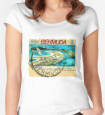 Bermuda Women's Fitted Scoop T-Shirt