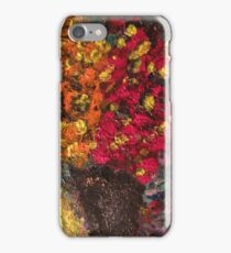 Two Tone Flower Abstraction iPhone Case/Skin