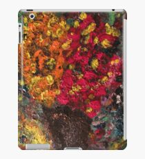 Two Tone Flower Abstraction iPad Case/Skin