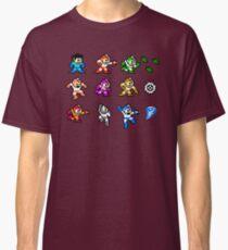 MegaMan Rainbow Classic T-Shirt