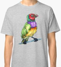 lady gouldian finch Classic T-Shirt