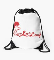 Puppet-fil-a Drawstring Bag