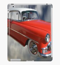 Red Classic Car From The 50s 60s iPad Case/Skin