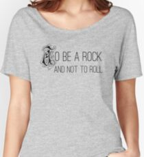 To Be A Rock And Not To Roll - Stairway To Heaven - Zeppelin Women's Relaxed Fit T-Shirt