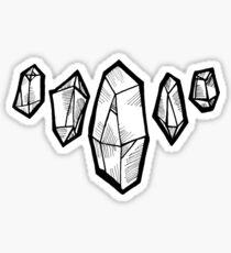 Kristalle Sticker