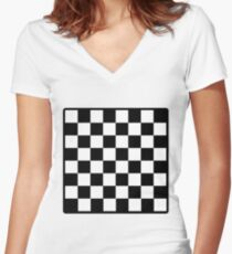Chess Women's Fitted V-Neck T-Shirt