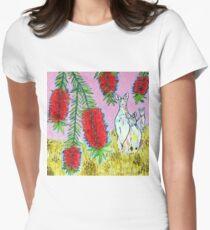 Kangaroos with Bottlebrush T-Shirt