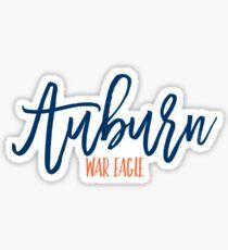 auburn university - war eagle Sticker