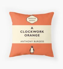 Penguin Classics A Clockwork Orange Throw Pillow