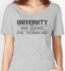 University of Mad Science and Evil Technology Women's Relaxed Fit T-Shirt