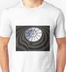 Interior of Guggenheim Museum, Frank Lloyd Wright Architect, New York City Unisex T-Shirt