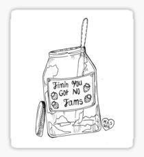 "BTS ""Jimin you got no jams"" Sticker"