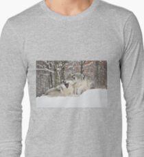 I'm not afraid of the big bad wolf... T-Shirt