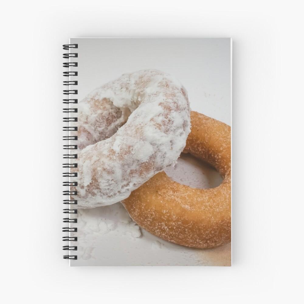 Doughnuts Spiral Notebook