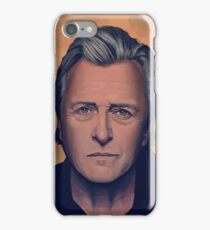 Rutger Hauer Painting iPhone Case/Skin