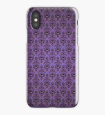 Haunted Mansion Wallpaper iPhone Case/Skin