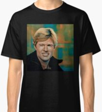 Robert Redford Painting Classic T-Shirt