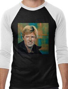 Robert Redford Painting Men's Baseball ¾ T-Shirt