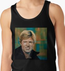 Robert Redford Painting Tank Top