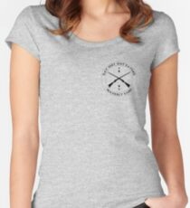 waverly eat shit shit eater Women's Fitted Scoop T-Shirt