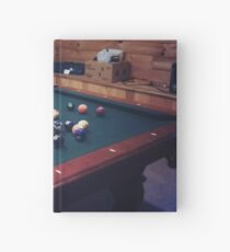 Pool Table Hardcover Journal