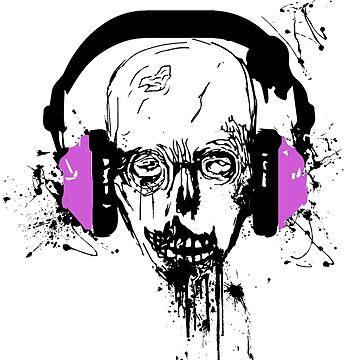 Teen Zombie Headphone by BRANDYCANDY