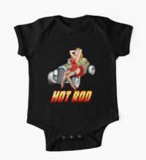 Hot-Rod  One Piece - Short Sleeve