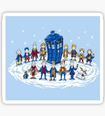 Doctor Who - Doctor Seuss Christmas Sticker